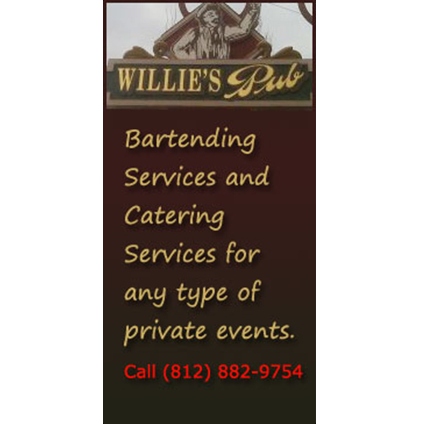Willies Mobile Ad